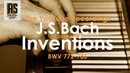J.S.BACH :: INVENTIONS BWV 772-786 COMPLETE :: WIM WINTERS, CLAVICHORD