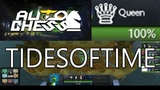 DOTA AUTO CHESS - QUEEN GAMEPLAY PLAYING ON LOW RANKS MAGE-DRAGONS COMBO WITH COMMENTARY
