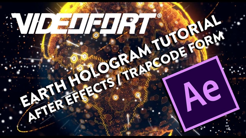 How to Create an EPIC Holographic Planet using Trapcode Form - After Effects CC 2019