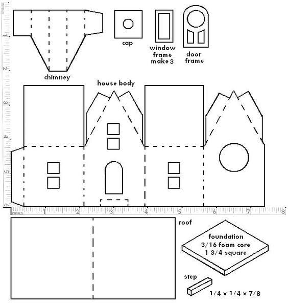 Бумажные домики