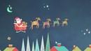 Santa Claus viene a la ciudad Cantoalegre Video de navidad