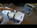 Ремни для транспортировки коробки от iMac === Luggage straps for transporting boxes of iMac