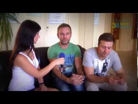 Группа Плазма (интервью после репетиции в Волжском )