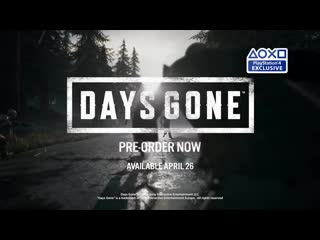 Days Gone Preview Accolades PS4