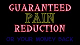 GUARANTEED Pain REDUCTION - or your money back - Jason Newland
