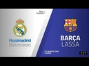 Real Madrid FC Barcelona Lassa Highlights Turkish Airlines EuroLeague RS Round 12