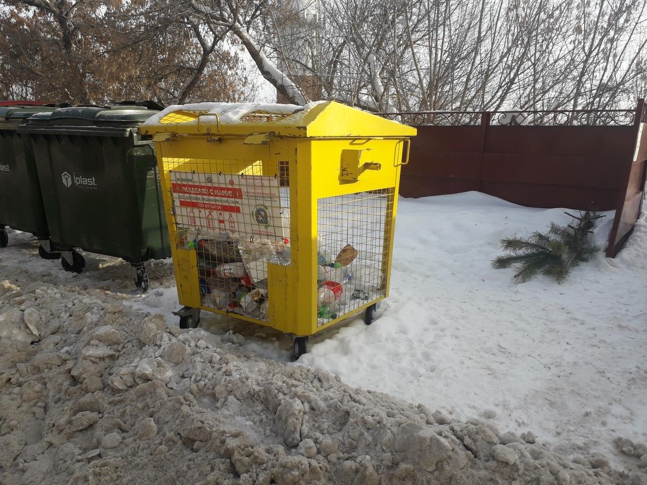 В Курске  утвердили почти 2000 контейнерных площадок для сбора ТБО