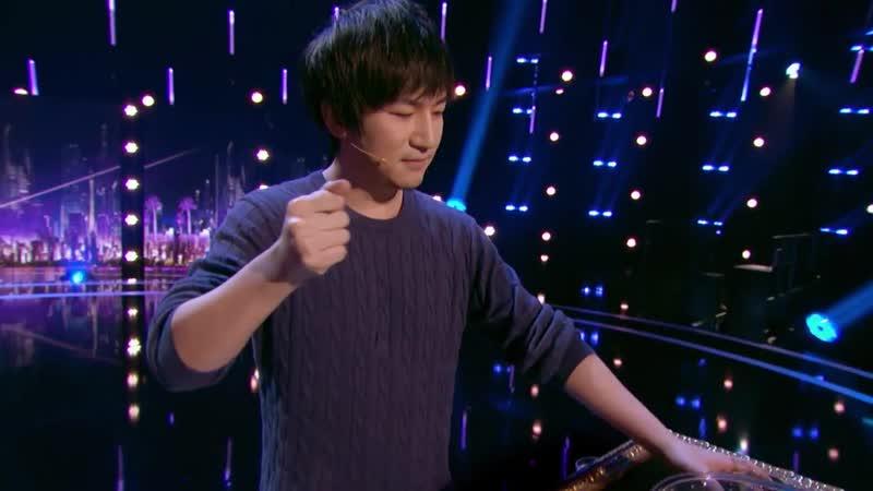 Visualist Will Tsai- Magician Makes Pet Fish Reappear - America's Got Talent 2017.mp4