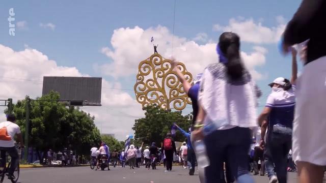 ARTE Reportage 20 10 2018 Nicaragua le vent de la revolte Quebec les indiens font leur cinema