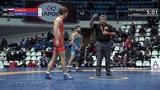67 kg. Aleksei KIYANKIN (RUS) - Karim JAFAROV (AZE)