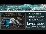 Derwent Graphitint (tinted graphite) Drawing & Art Chat Livestream