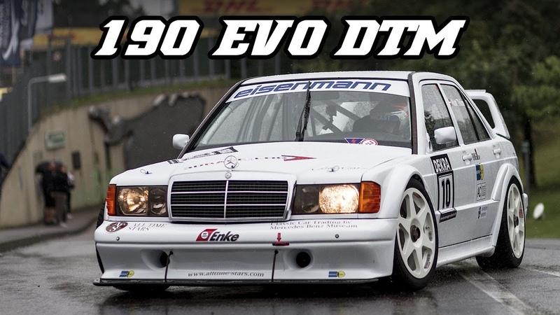 Mercedes-Benz 190e EVO 2 DTM - great intake sounds