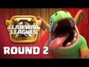 Clan War Leagues - TH12 War Attacks - Clash of Clans - Round 2 |Sc studio
