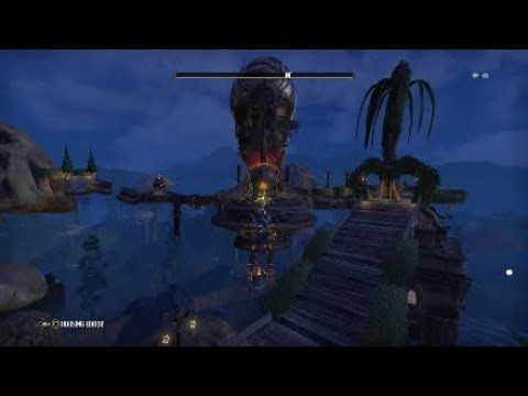 Eso housing ,Tamriels first zeppelin with motion at 600cap.
