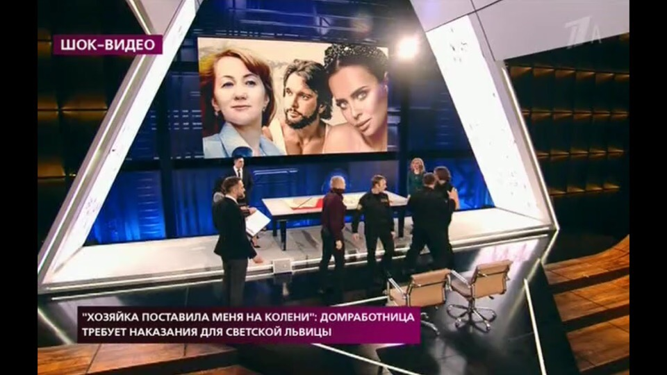 Антон Гусев избил парня в прямом эфире