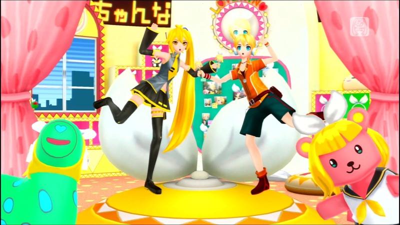 Hatsune Miku: Project DIVA F - Akita Neru, Kagamine Len - Rin-chan Now! (PV)