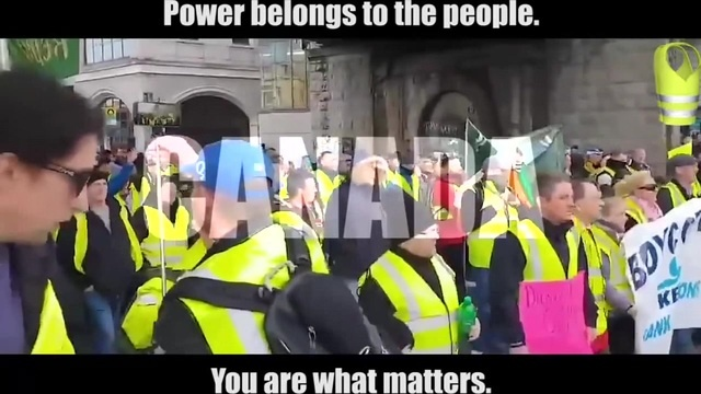 Yellow Vests Worldwide Qanon Movement - Nothing can stop us. Nothing.
