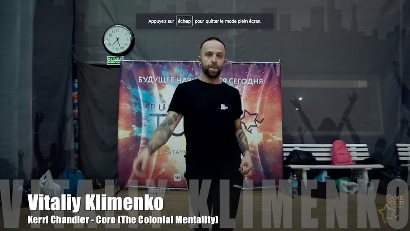 ВИТАЛИЙ КЛИМЕНКО | RUSSIAN TOP X | 22-23 СЕНТЯБРЯ | МОСКВА