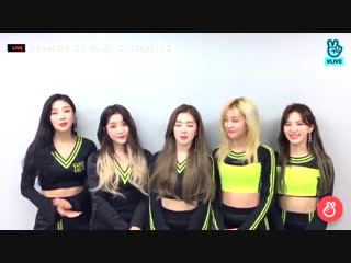 181102 Red Velvet's VLive update