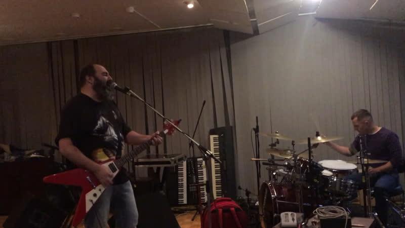 Angel Da Rock - Репетиция новой песни