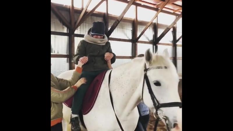 Поездка в конный клуб Радена