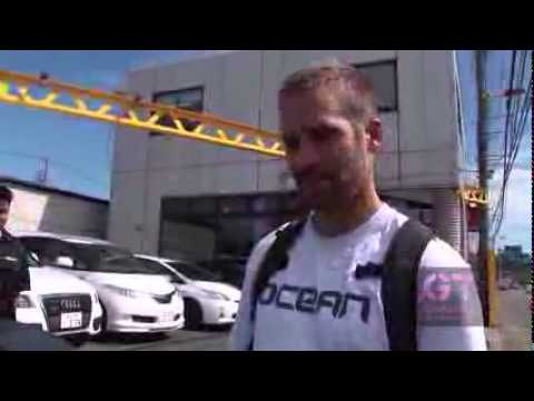 Paul Walker Visits Famous Nissan Skyline GT R Tuner Mine s i