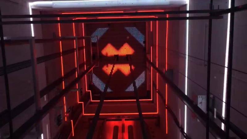Lift A'DAM toren InventDesign