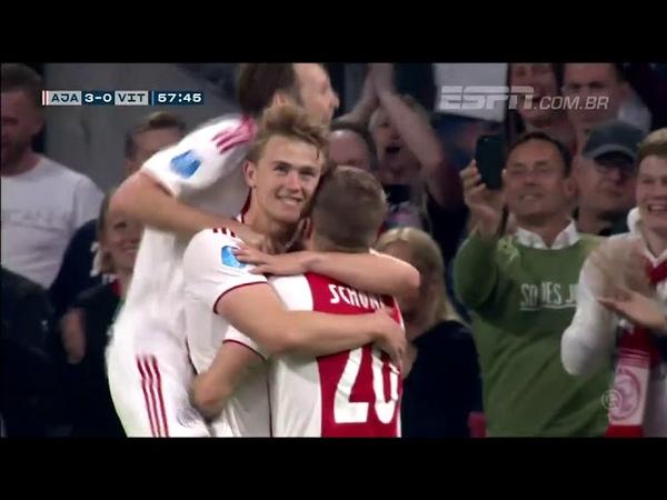 Ajax 4 x 2 Vitesse | Gols e Melhores Momentos | 23/04/2019