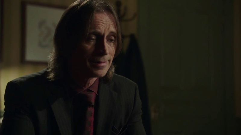 Мистер Голд в кабинете Арчи Хоппера 1x19