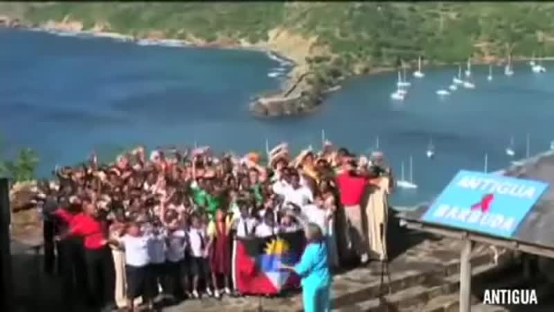 156 countries sing together - All You Need is Love