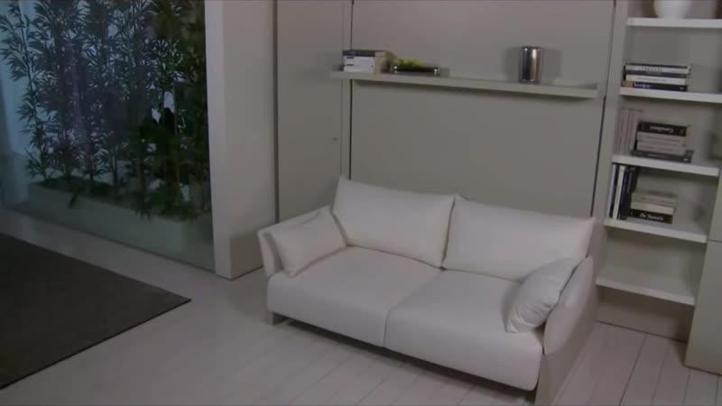 Мебель трансформер для Маленькой Квартиры