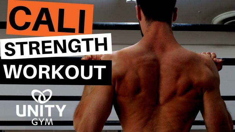 Calisthenics Workout For Beginners [Bent Arm Strength]