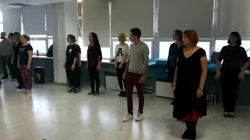 Открытый урок по свинг дэнс в студии танцев ADORE 2.12.18