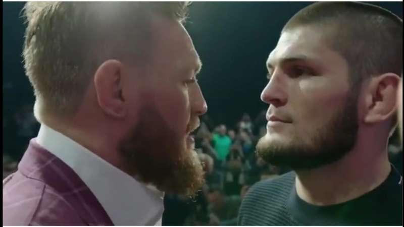 Connor McGregor - Khabib Nurmagomedov - The first face off