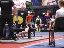 Соловьева Ксения, 62,5 кг. 22 повторения