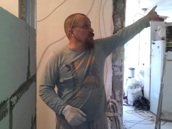 как построить ванную кабину из пеноблоков ремонт в ванной с нуля