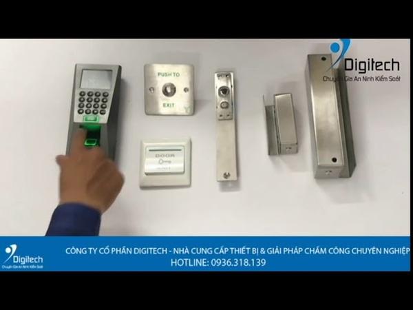 Digitech Media | Hệ thống kiểm soát ra vào sử dụng Ronald Jack F18
