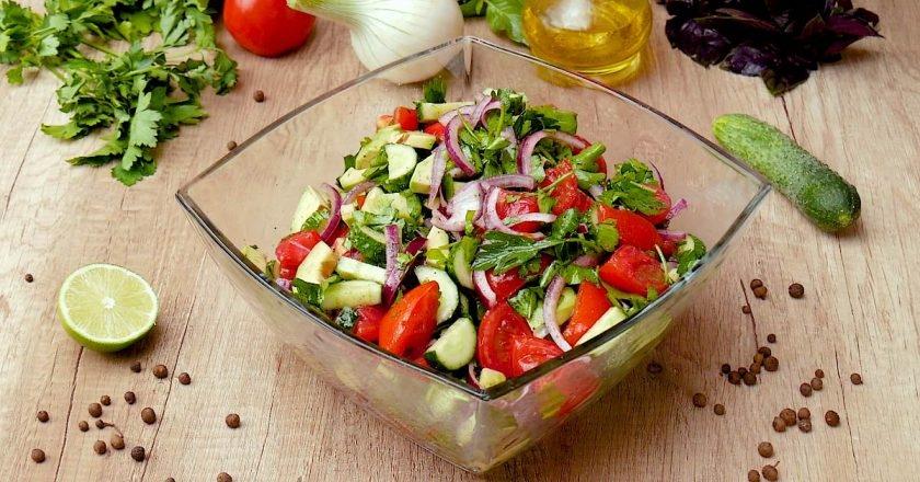 Рецепты салатов простые и вкусные: на скорую руку