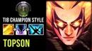 Topson TI8 Champion Style First Big Item Radiance New Meta Build Dota 2