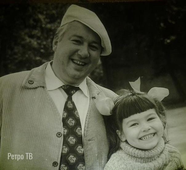 Юрий Волынцев с дочерью. Помните этого актера В каком фильме он вам запомнился