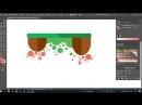 Векторный Оствровок в Adobe Illustrator