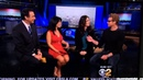 CBS LA Morning News The Mentalist Simon Baker and Robin Tunney interview Red John
