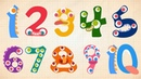 Endless Numbers - Learn to Count from 1 to 10 Simple Addition With the Adorable Endless Monsters