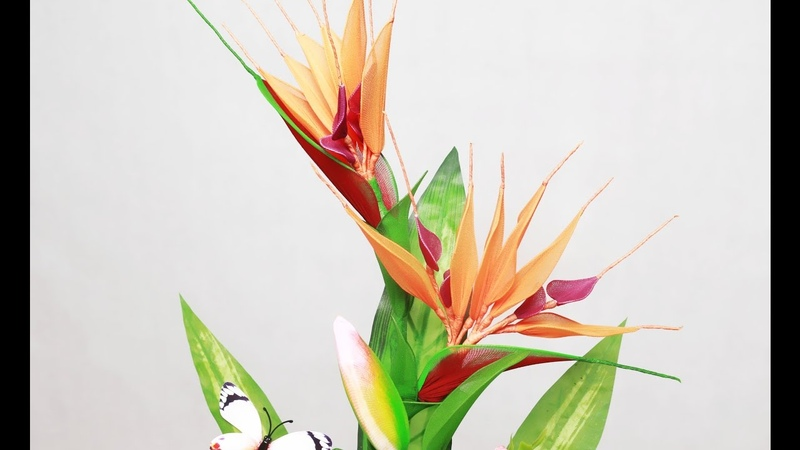 Tập 5 Làm hoa THIÊN ĐIỂU bằng vải voan