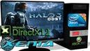 XENIA DX12 Xbox 360 Halo 3 ODST Ingame DirectX 12 api 2