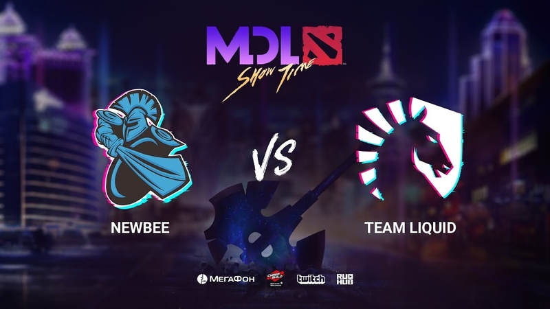 NewBee vs Team Liquid - Group Stage - MDL Macau 2019