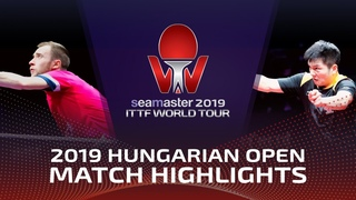 Fan Zhendong vs Alexander Shibaev | 2019 ITTF World Tour Hungarian Open Highlights (1/4)