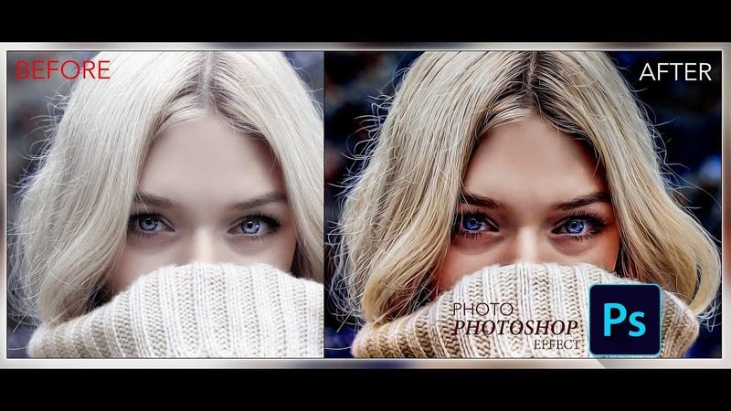 Photoshop CC Hızlı ve basit Yağlı Boya Etkisi | Fotoğraf Rötuşlama