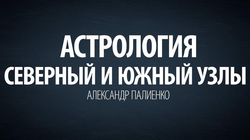 Астрология. Северный и Южный узлы. Александр Палиенко.