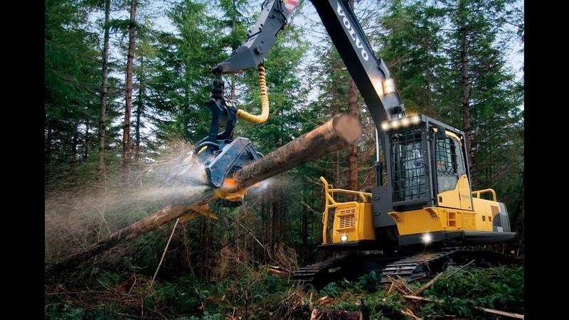 Ponsse Харвестер и форвардер, John Deere, EcoLog!/Harvester Ponsse, John Deere